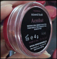 Neve Cosmetics - Blush Minerale in Acrobat - Circus Collection - Anteprima - Neve Birthday Party