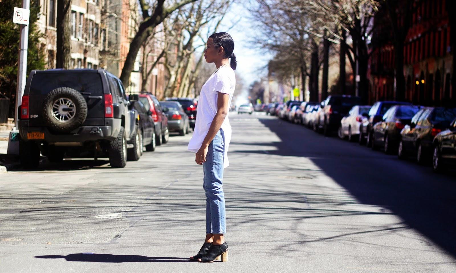 Polka Dot Girlfriend Jeans