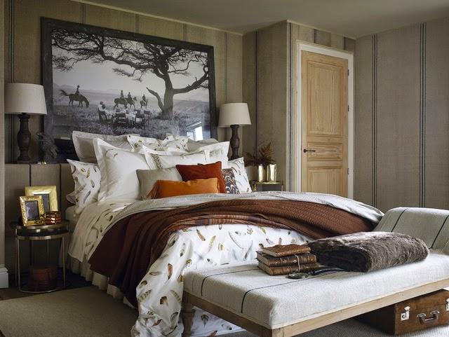 dormitorio, otoño, decoración, Zara Home