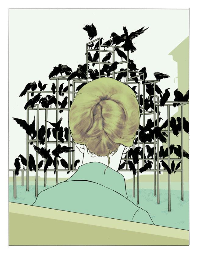 Doctor Ojiplático. Tomer Hanuka. Ilustración | Illustration