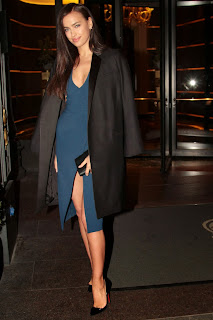 Irina Shayk Cleavage And Legs Candids At Roberto Cavalli Boutique Opening In Milan 015.jpg