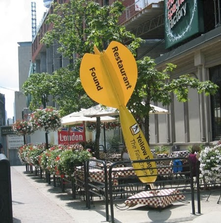Yellow Pages, restaurant found