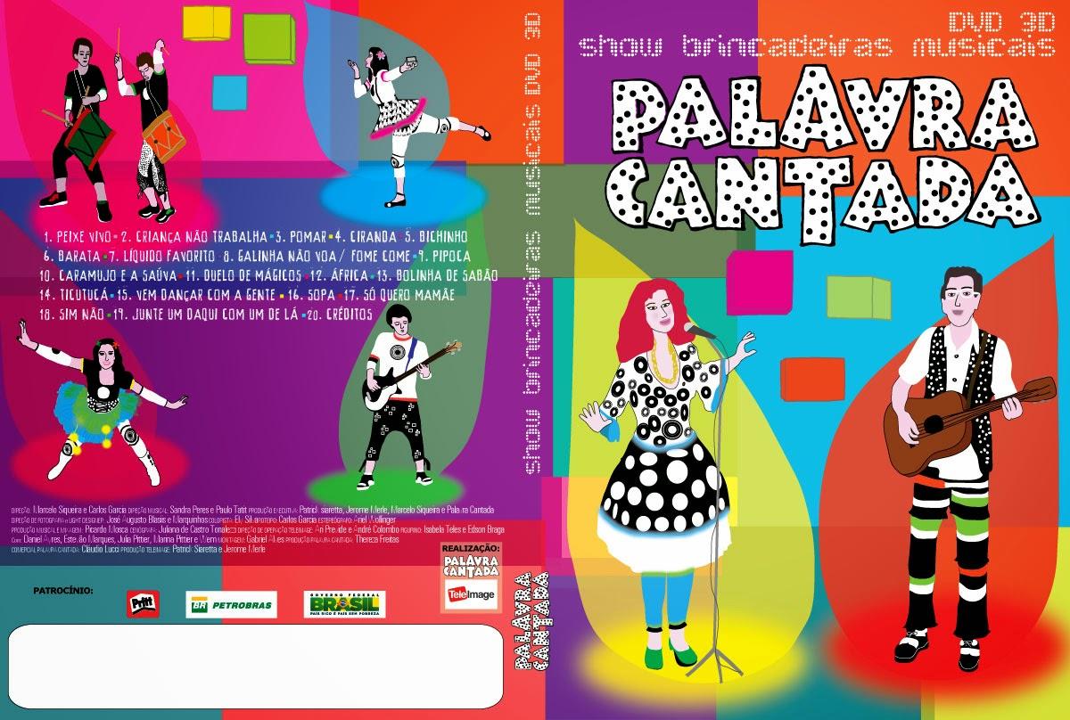 Palavra Cantada Dvd 2013 Dvd Palavra Cantada 2012