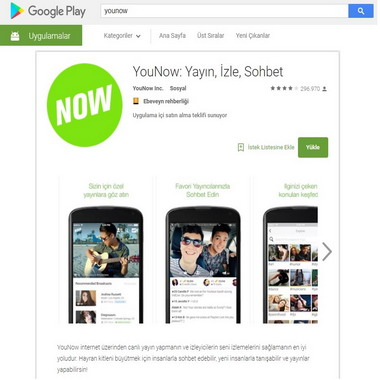 play google com - store - younow