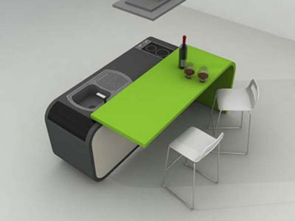 Cocina Modular - Muebles para un Apartamento Pequeño | Cómo Diseñar ...