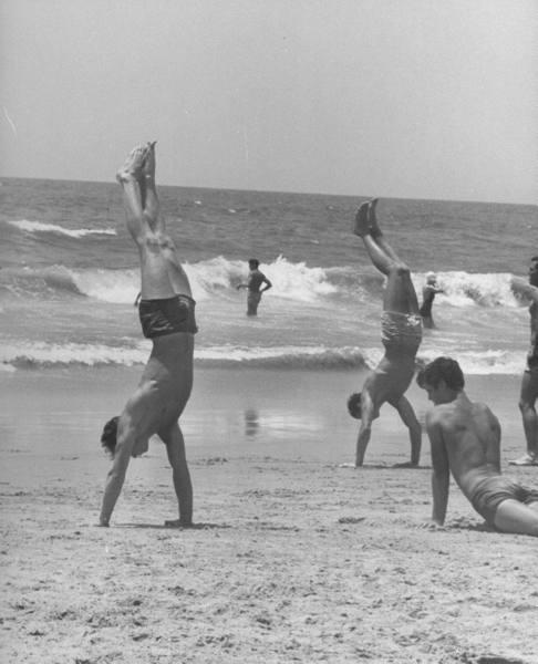 Fun On The Beach, California, 1948 ~ vintage everyday