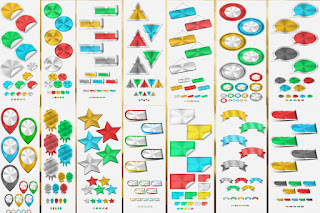 Web Art Decor png and psd Collection free Full