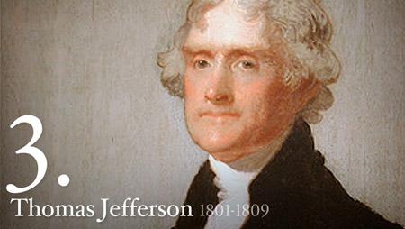 THOMAS JEFFERSON 1801-1809