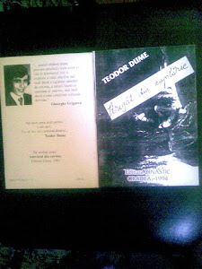 Teodor Dume, carte: Strigăt din copilărie
