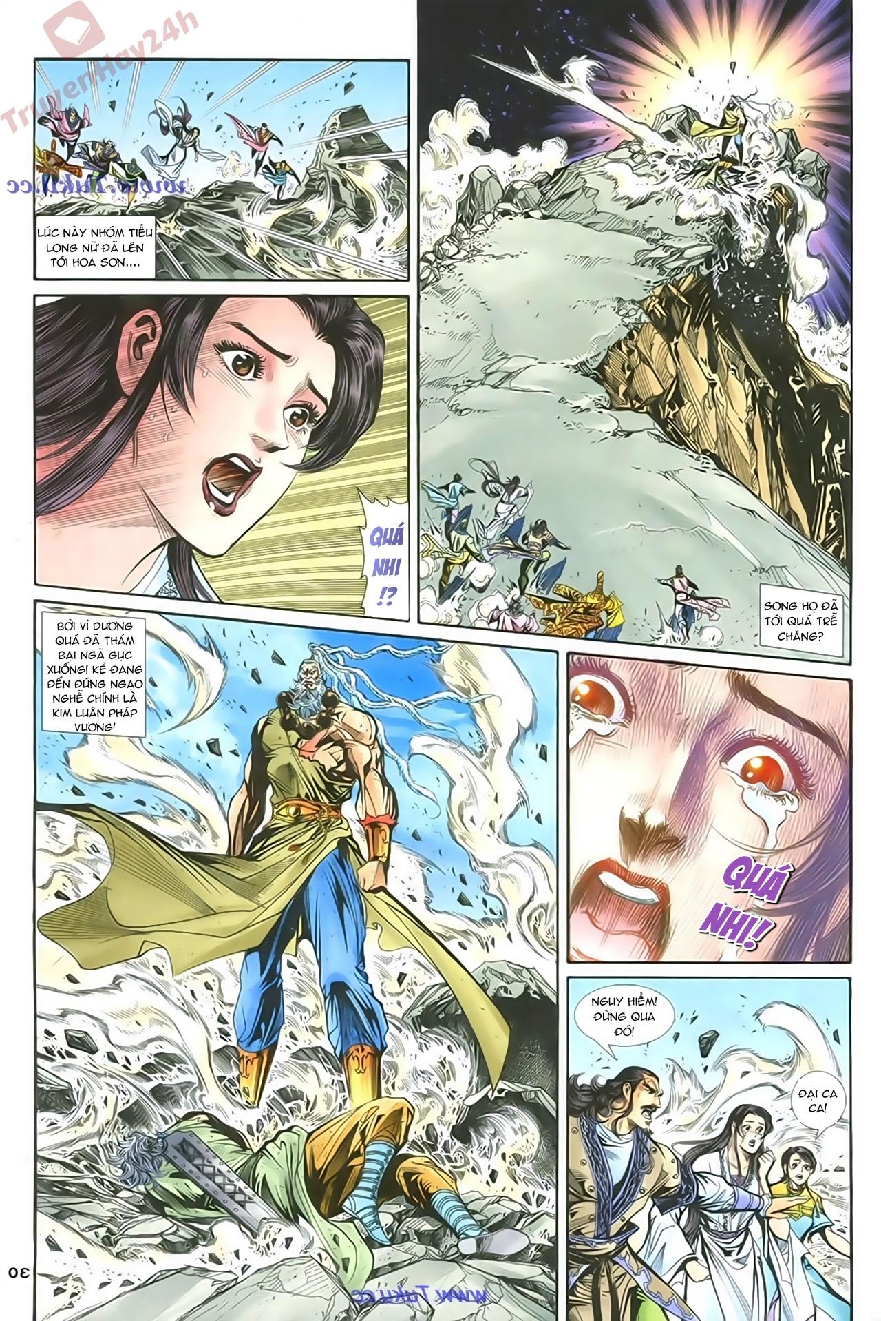 Thần Điêu Hiệp Lữ chap 86 – End Trang 29 - Mangak.info