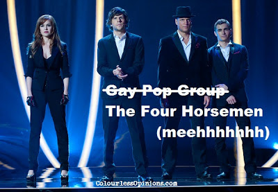 Now You See Me still The Four Horsemen meme image