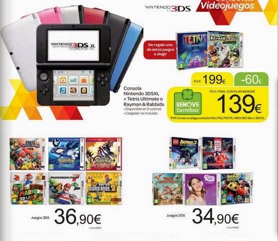 Nintendo 3DSXL + Juego 139 Carrefour 14