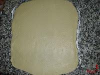 Pan de Jamón-masa estirada