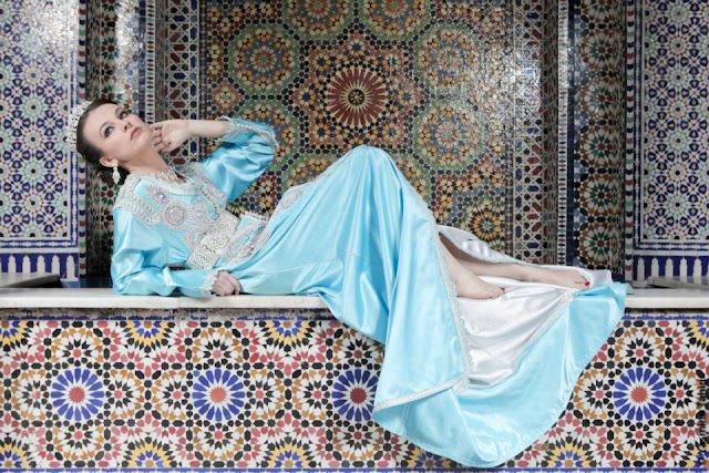 caftan de mariée marocaine, takchita mariage 2013