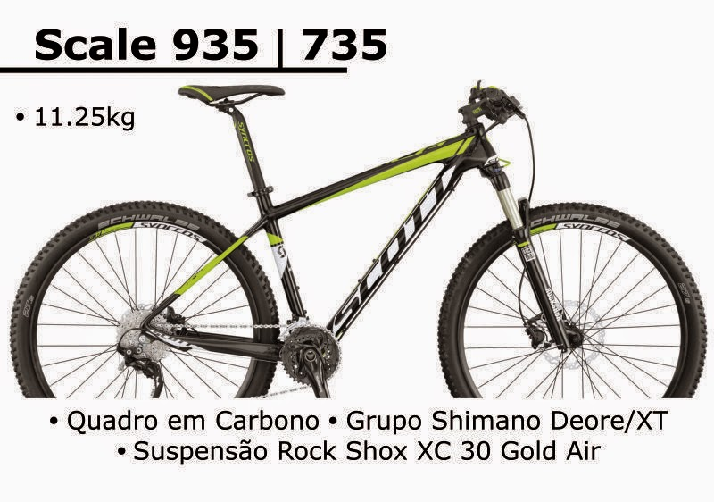 Bicicleta Scott Scale 935 2015