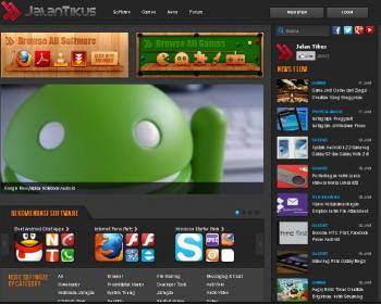 JalanTikus.com Homepage