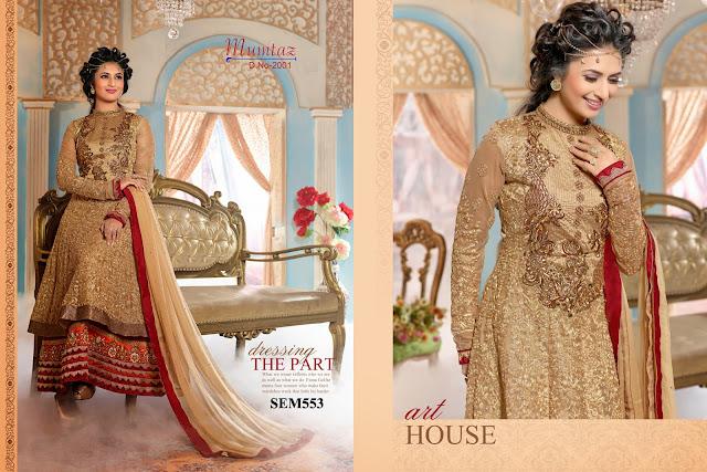 Divyanka Tripathi Designer Heavy Anarkali Suit