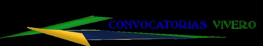 CONVOCATORIAS VIVERO Centro de Formación y Empleo
