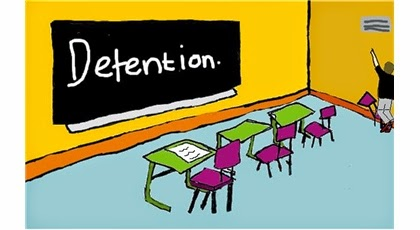 Wednesday Wonderings - Does Detention Work?