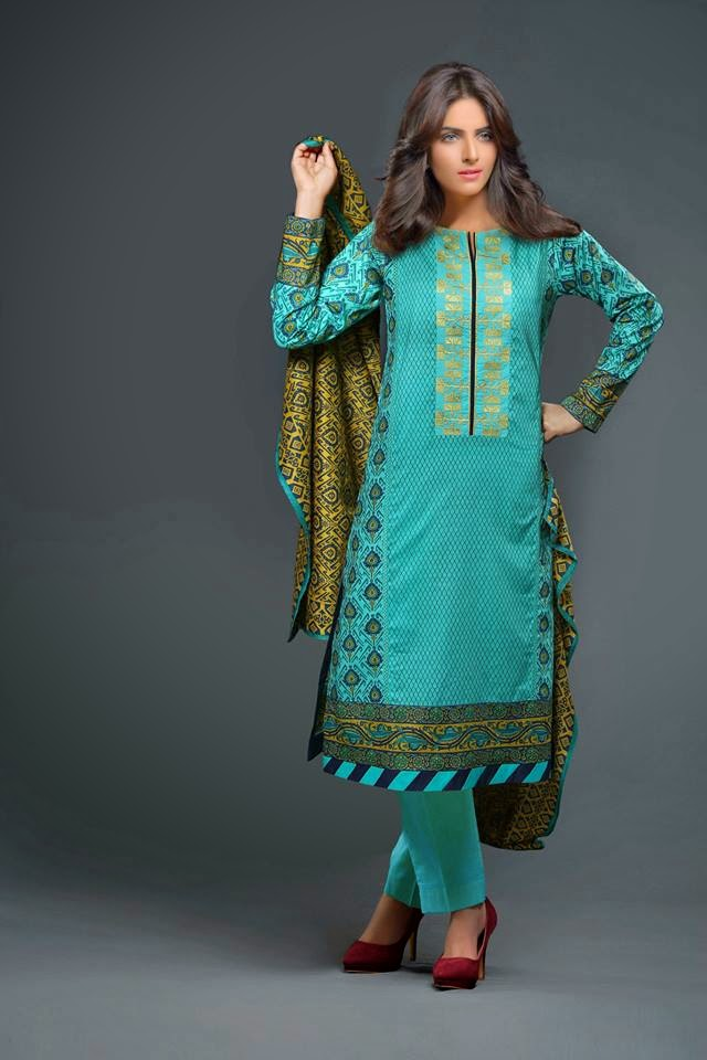 Latest Summer Parsa Lawn Prints 2015