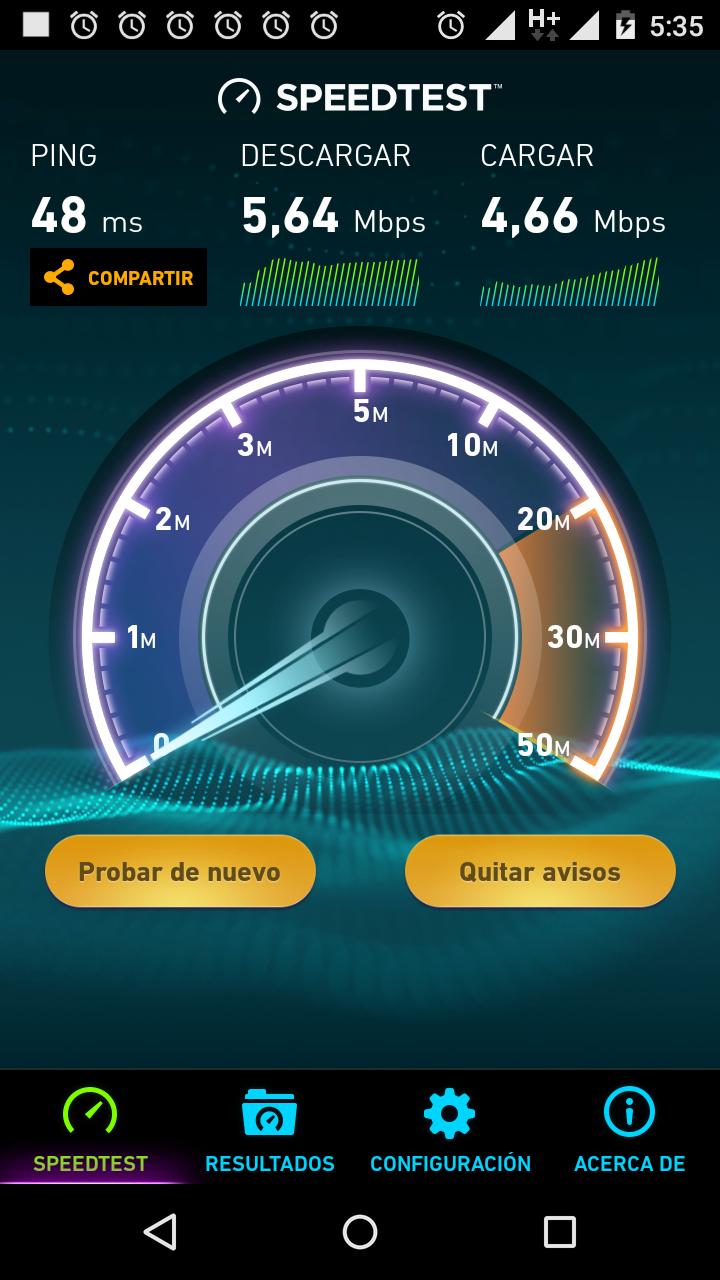 Velocidad del internet vpn