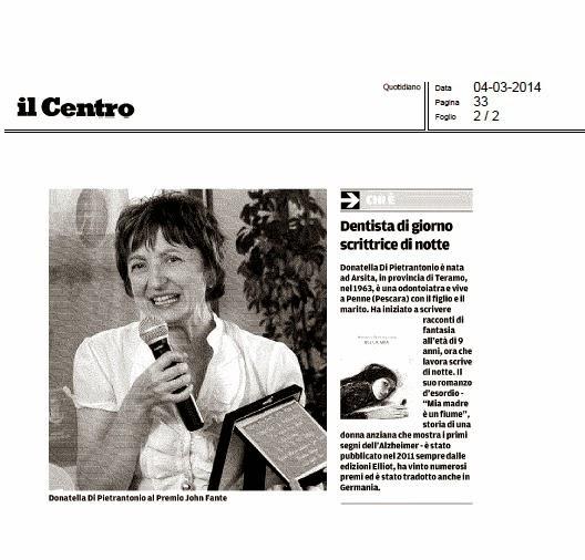 """Articolo de """"Il Centro"""""""