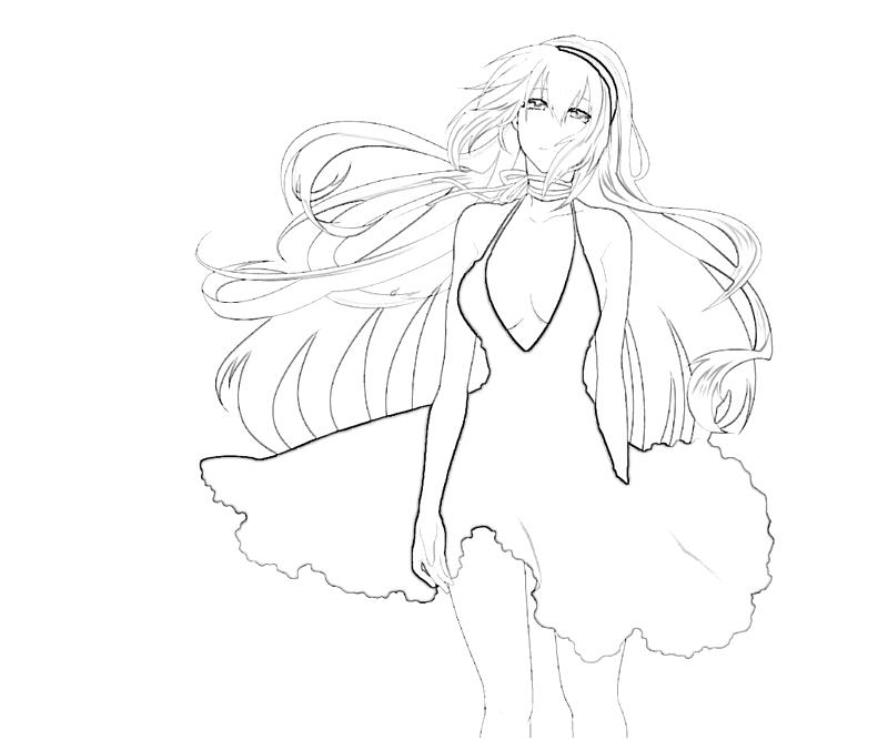 free vocaloid hatsune miku coloring pages