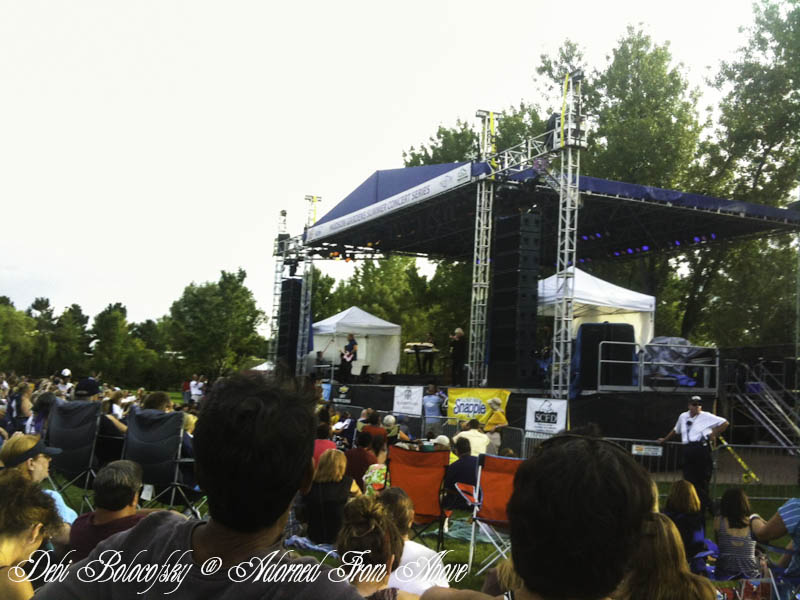 Adorned from above air supply concert at hudson gardens great concert for Hudson gardens concert schedule