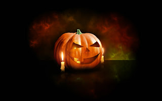 Halloween Pumpkin Dark Gothic Wallpaper