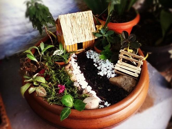 Meu Palácio de 64m² Mini Jardins  Mini fofuras