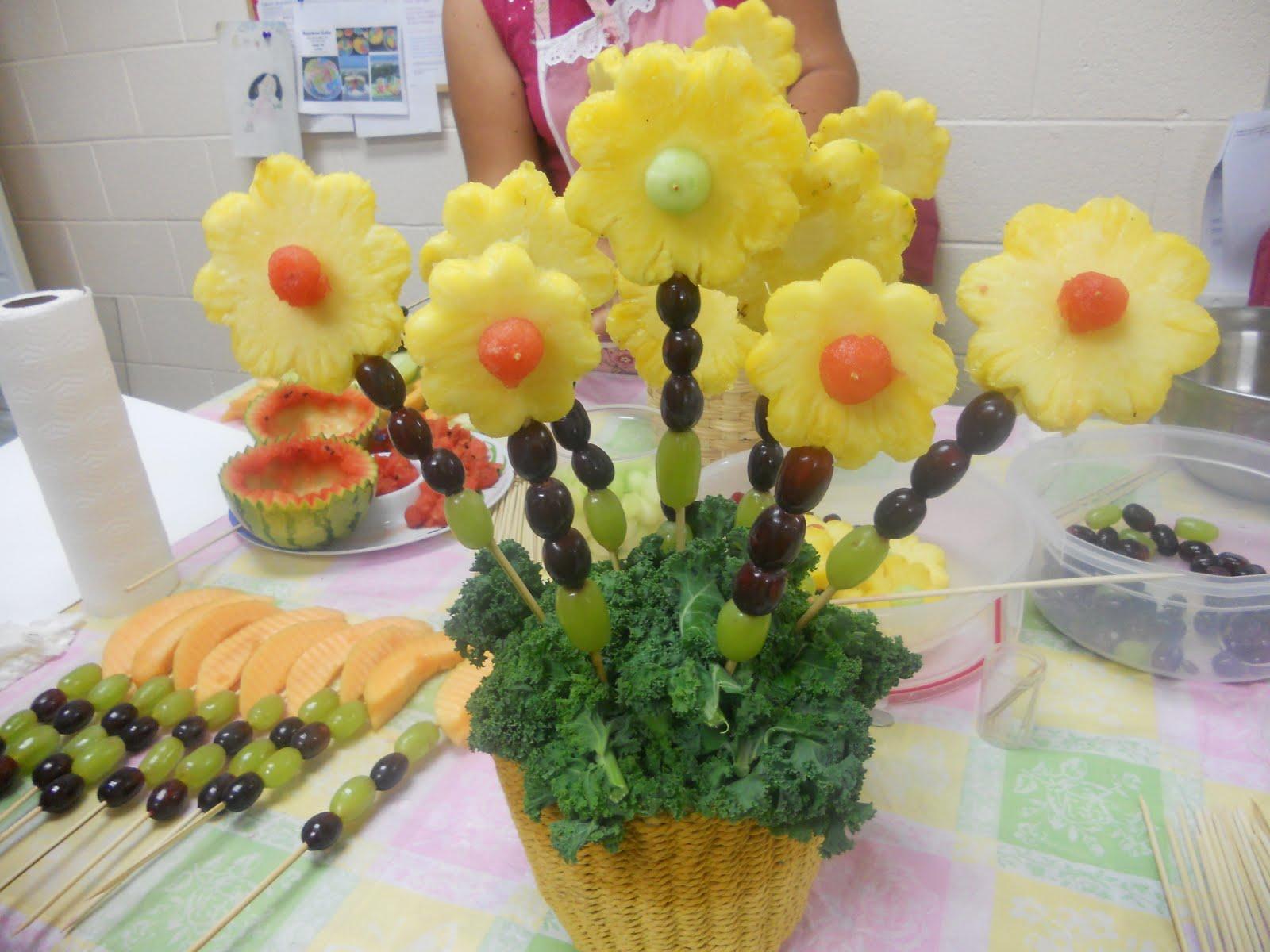 Pin arreglos frutales para fiestas eventos y fechas - Centros de mesa con pinas ...