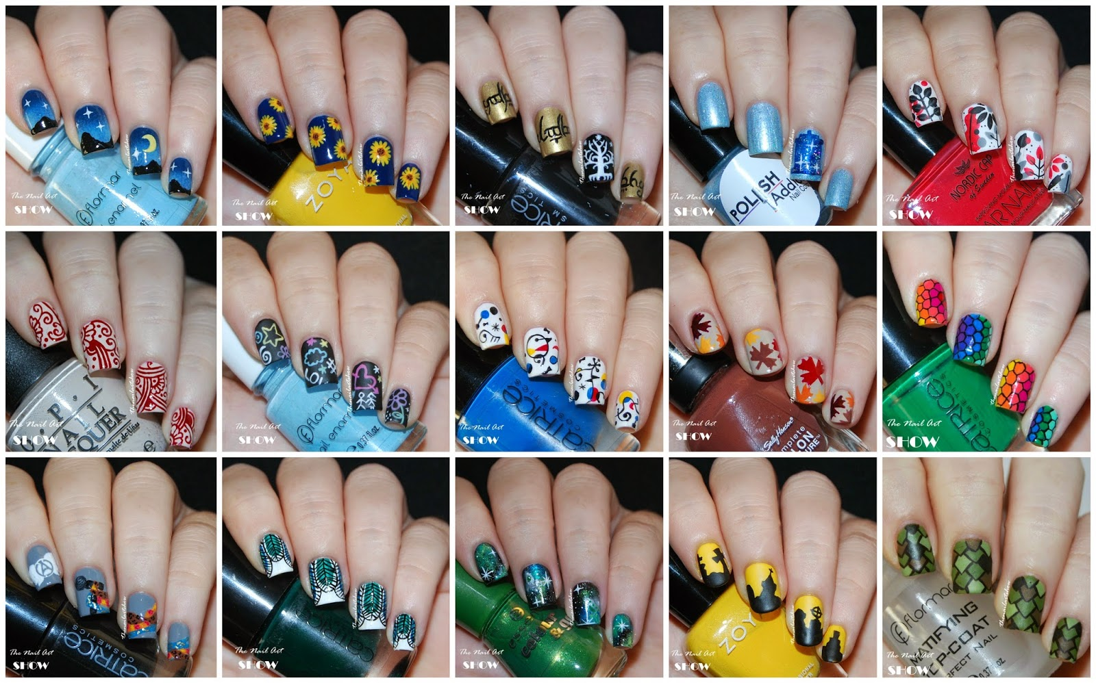 The nail art show 2014 nail art favorites which is your favorite prinsesfo Image collections