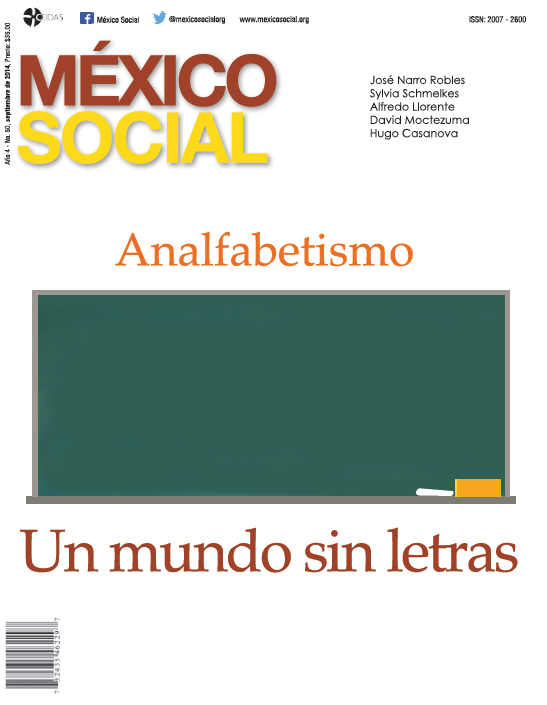 Revista México Social - Año 3, No. 50, septiembre de 2014