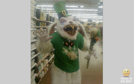 Crazy funny pictures 13 funny walmart shoppers for Easter tattoos walmart