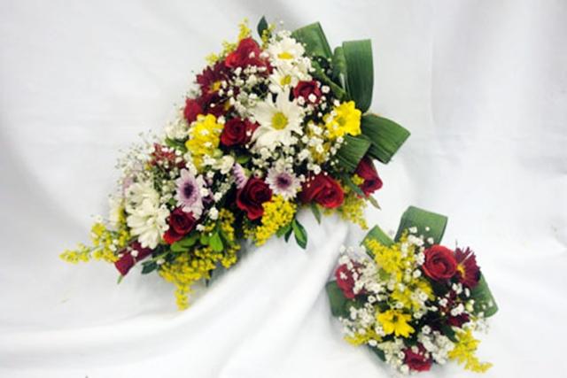Bouquet de flores do Campo e chocolate Luzia Especial  - Fotos De Bouquet De Flores Do Campo