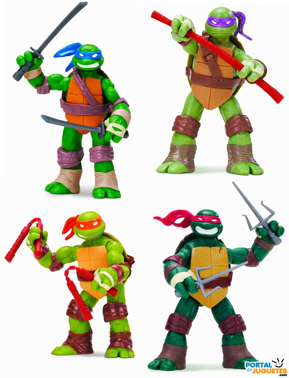 figuras las tortugas ninja playmates toys