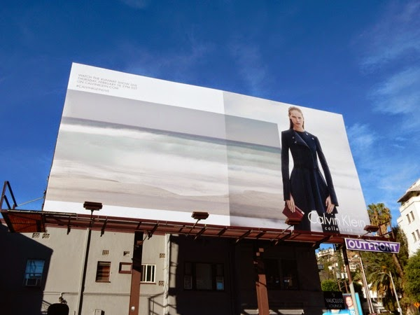 Calvin Klein Collection Spring 2015 billboard