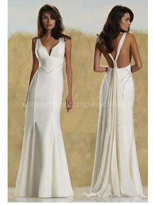 Bridal Dress on All About The Wedding Celebration  Simple Bridal Gown