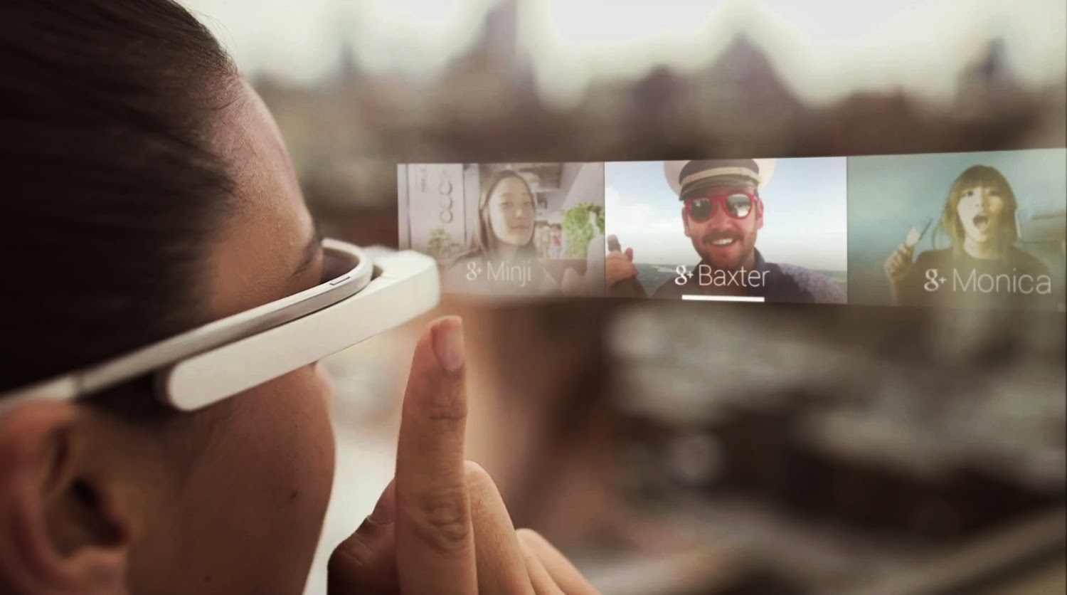 Google Glass ofrece notificaciones Glanceable