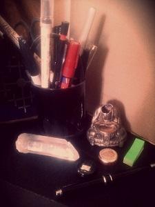 På skrivbordet