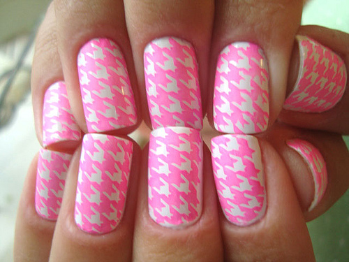 The Astonishing Neon nail designs for short nails Photo