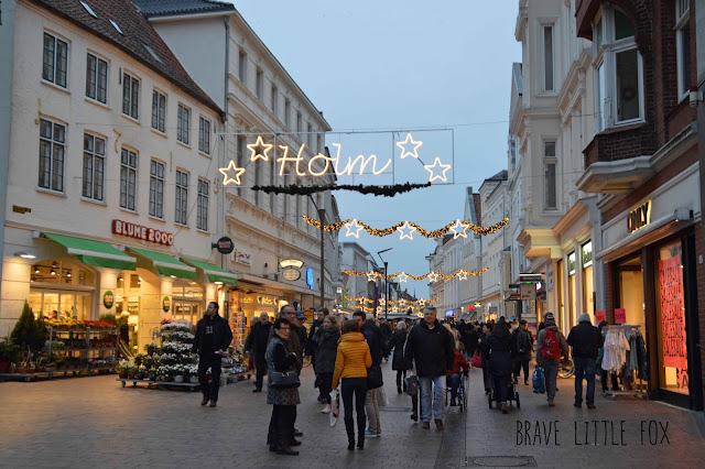 Weihnachtsbeleuchtung Flensburger Holm
