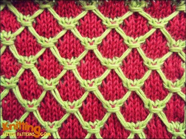 Cluster Quilting Knitting Stitch Patterns