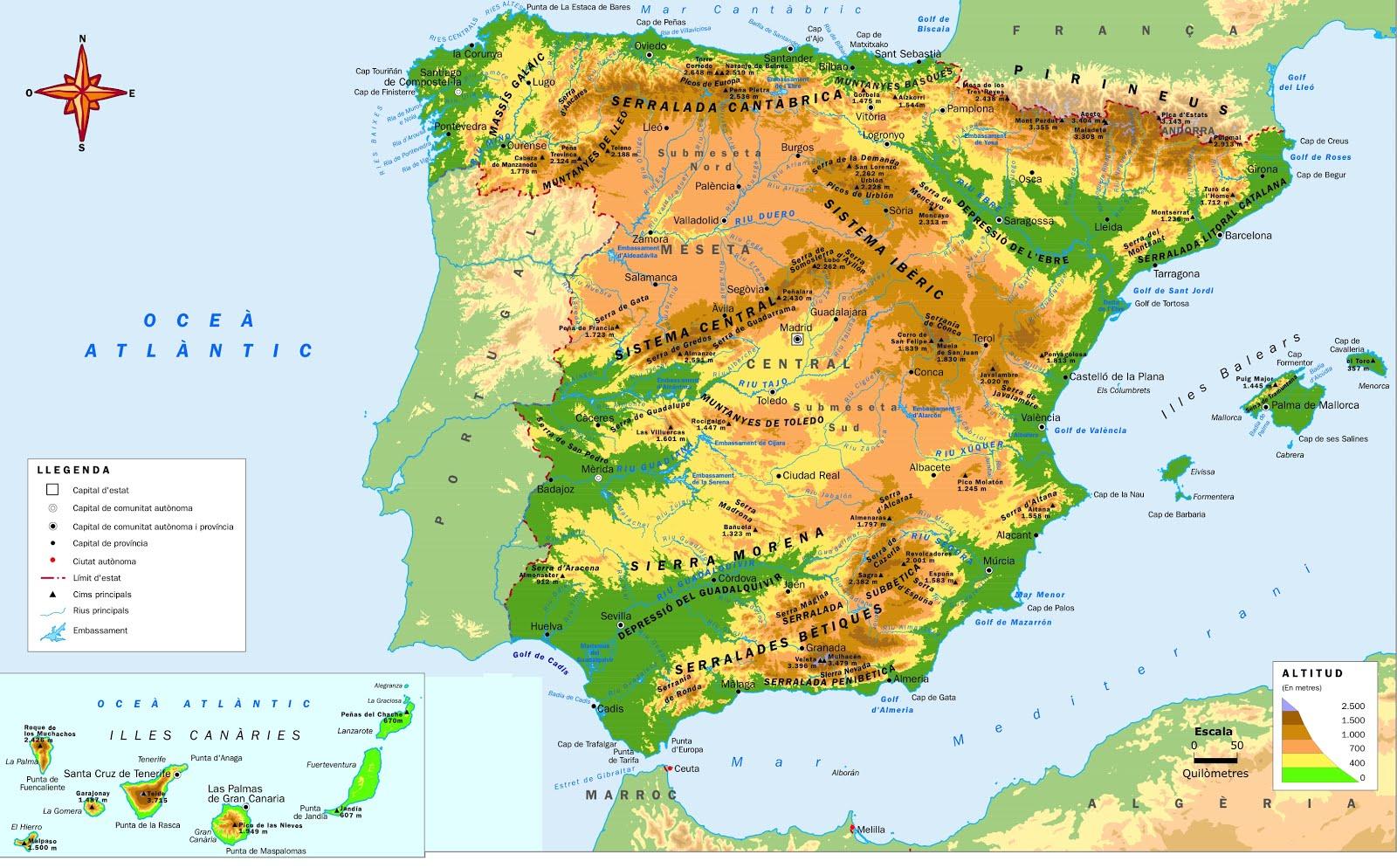 Ruta per Espanya