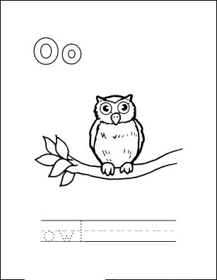 Owl Babies Coloring Pages
