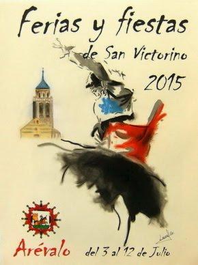 """Programa de las Ferias y Fiestas """"Arévalo 2015"""""""