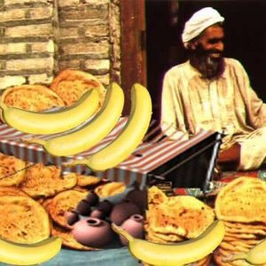 Afghanistan Banana Stand report