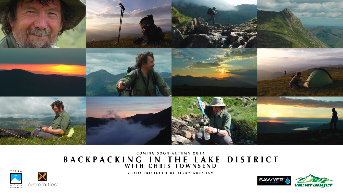 backpacking in the lake district with chris townsend