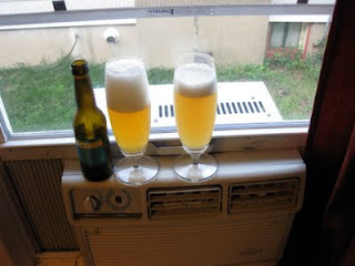 Two hoppy American wheat ales.