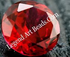 Red Color Gems
